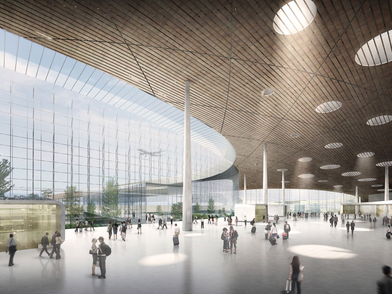 The Changchun Longjia International Airport terminal by HASSELL