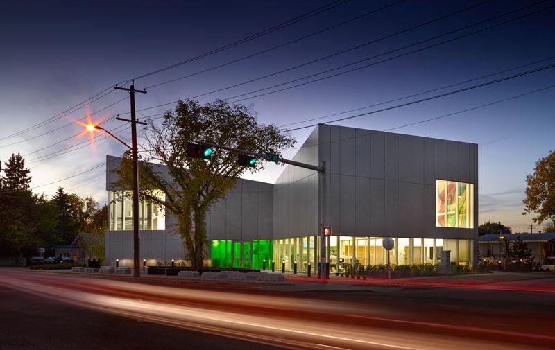 Highlands Branch Library by schmidt hammer lassen in Edmonton, Canada opens its doors