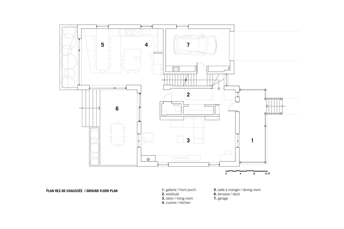 Dulwich Residence by _naturehumaine - Ground Floor Plan