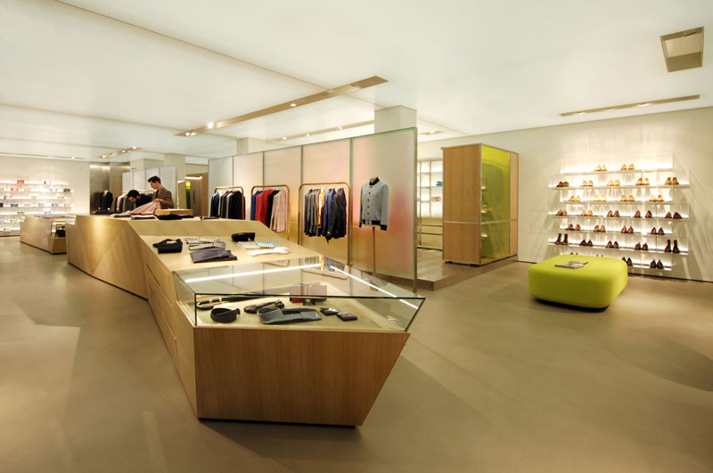 Andy Martin Architects completes new Richard James Flagship store