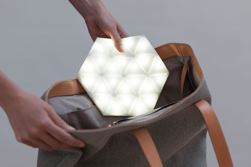 The first portable & flexible lighting device