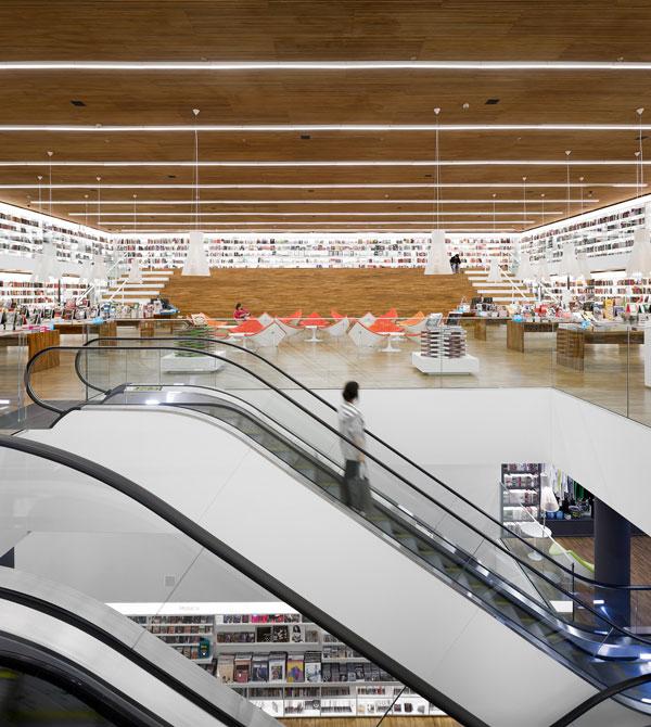Cultura Bookstore by studio mk27