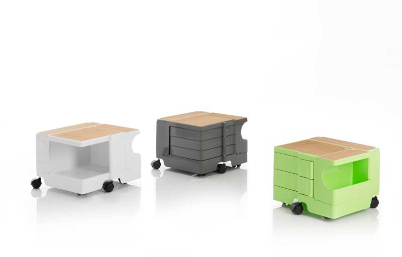Bobby Trolley Storage unit by Joe Colombo for B-LINE - 1970 design