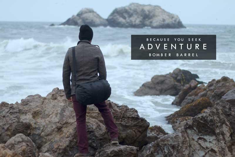 Bomber Barrel Duffel Bag - Because you seek adventure