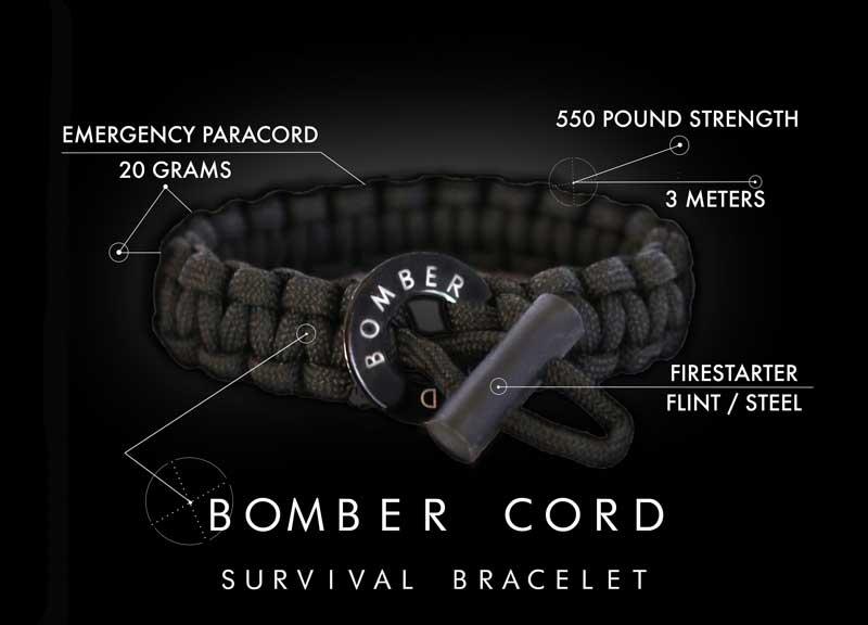 Bomber Barrel Power Cord