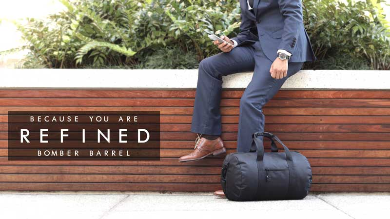 Bomber Barrel Duffel Bag raises 200k in 2 weeks on Kickstarter