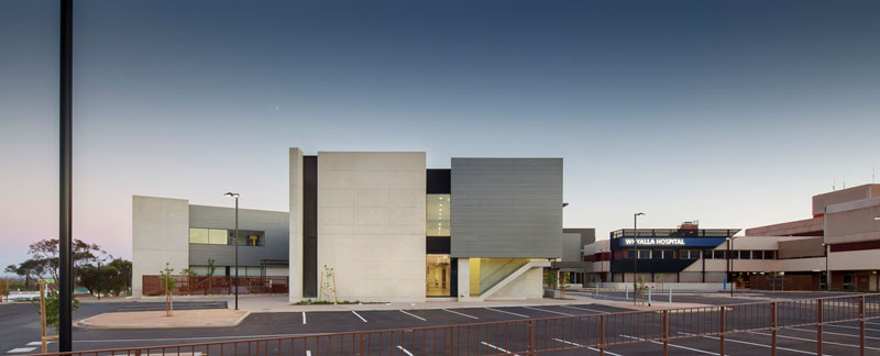 Whyalla Regional Cancer Centre Redevelopment by Hames Sharley