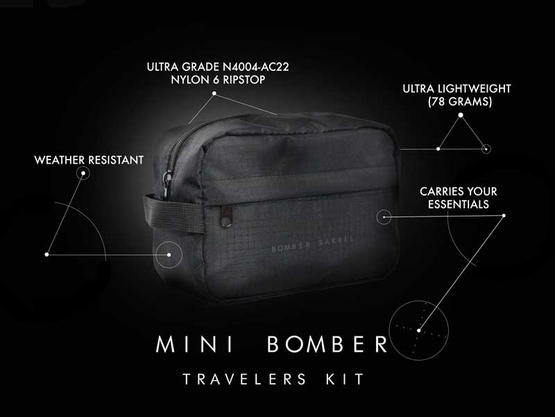Mini Bomber Black