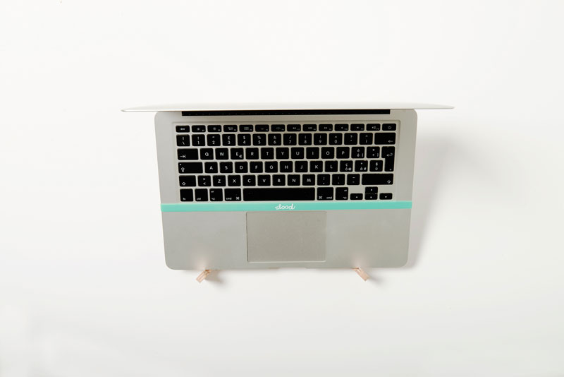 Eco-friendly Wood Laptop Stand by Stood