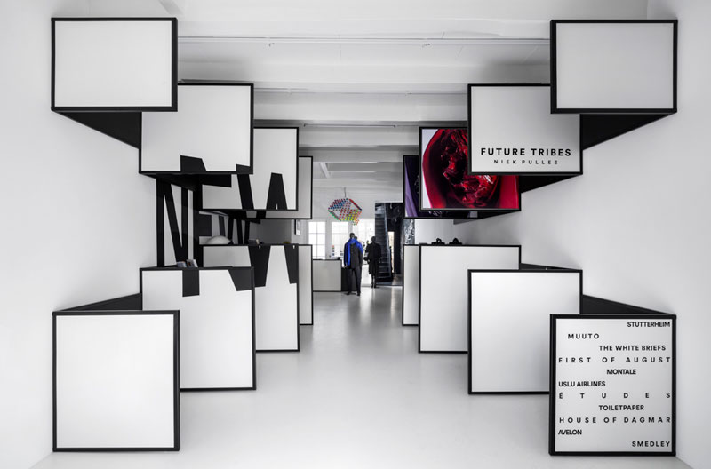 i29 interior architects create a sensory experience for the new FRAME store
