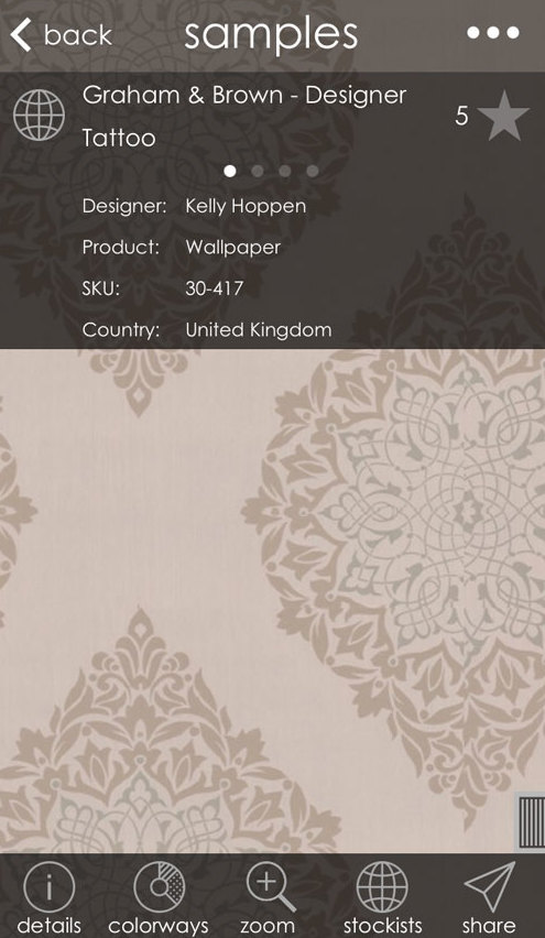 pattersnap: An app every interior designer needs
