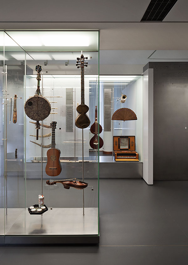 The floating musical instruments - Sonorous Museum by ADEPT