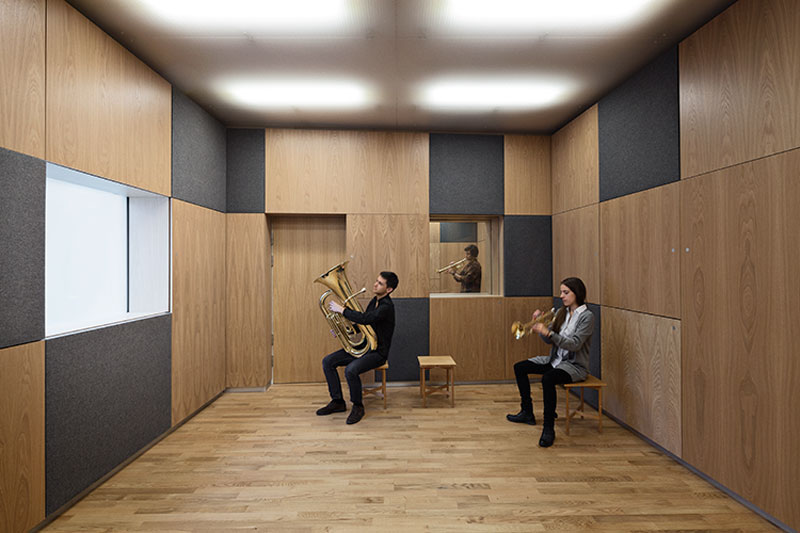 The grafical clarity in the sound space for brass instruments - Sonorous Museum by ADEPT