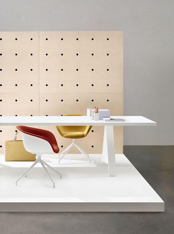 Cross Table by Rizzini+Fattorini+Partners for Arper