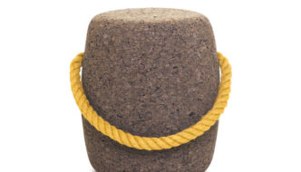 Pipo cork stool by DAM