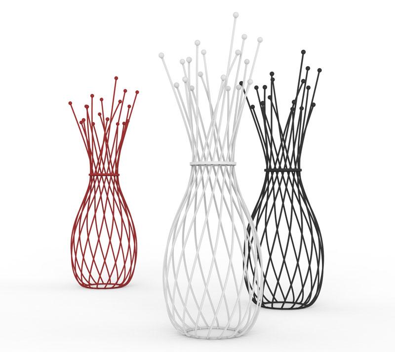 IBERNA hanger designed by Gianluca Minchillo for Progetti