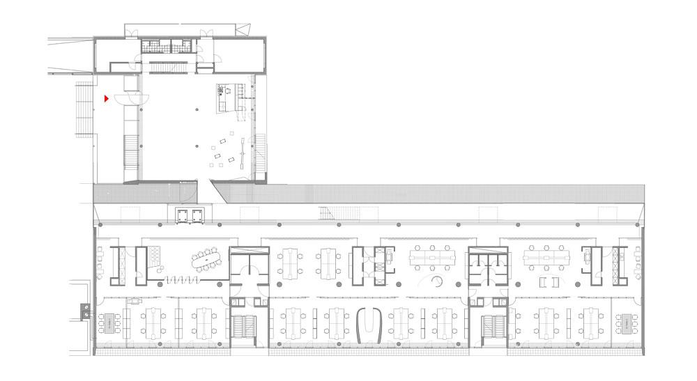 Innocean Headquarters by Ippolito Fleitz Group - Plan