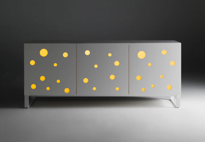 Polka Dots Fullwhite by Toyo Ito for Horm