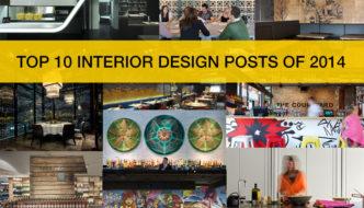 Top 10 Interior Design Posts of 2014