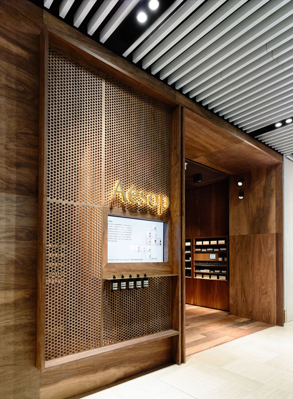 Aesop Emporium store by Kerstin Thompson Architects and .PSLAB