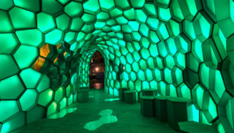 Cellular Tessellation by Abedian School of Architecture