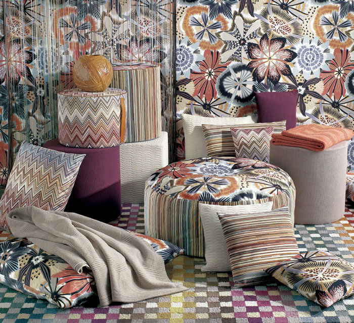 MissoniHome celebrates 60 years through never-before seen Retrospective - IDS 2015