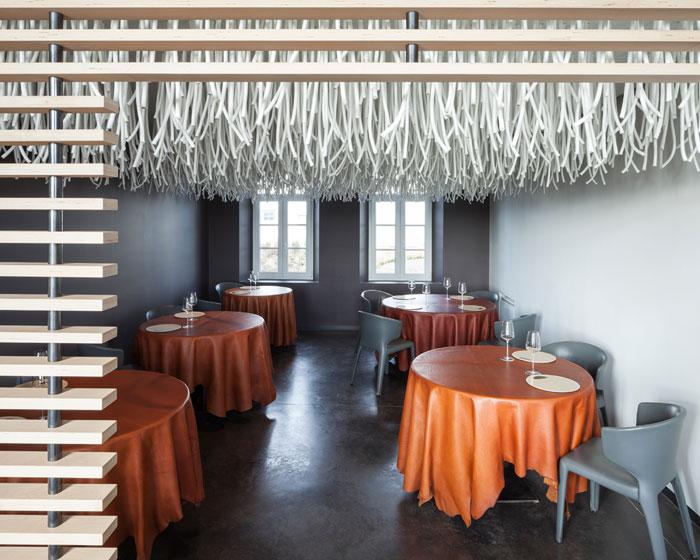 Quentin de Coster designs installation for L'Air du Temps