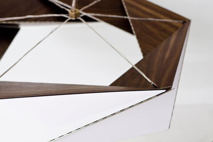 Aperture Pendant by Cut-Fold