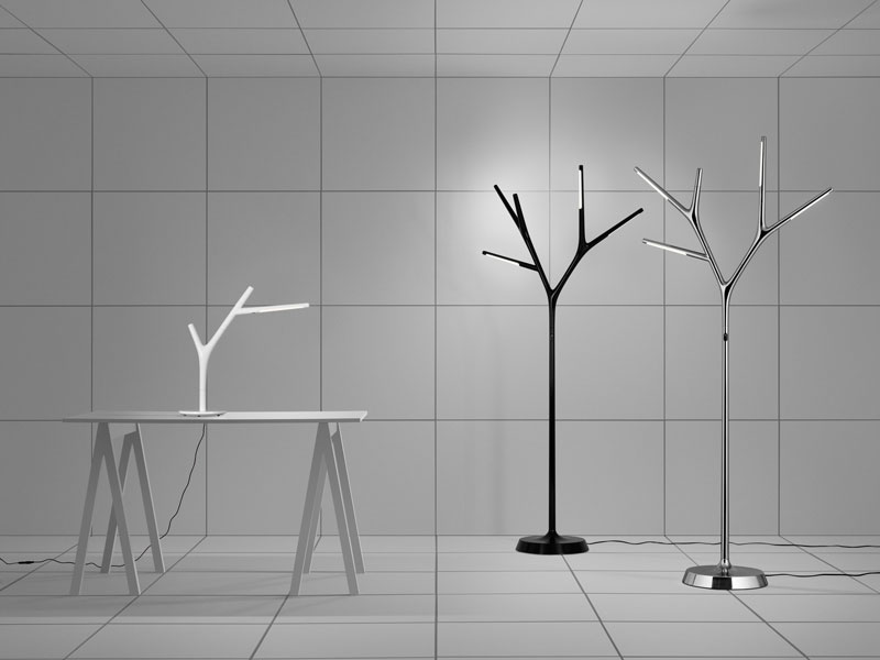 Faggio Lamp by atelje Lyktan Takes Inspiration from Nature