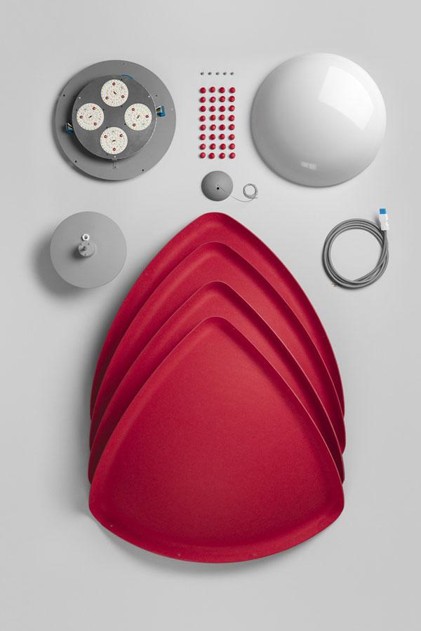 Hood Modular Pendant by Form Us With Love & ateljé Lyktan