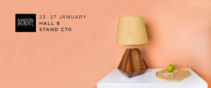 NEVOA showcasing for the first time at Maison & Objet