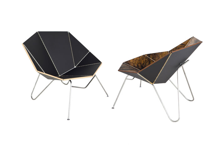 Cut Fold Designs Chair Inspired By Papercraft Design