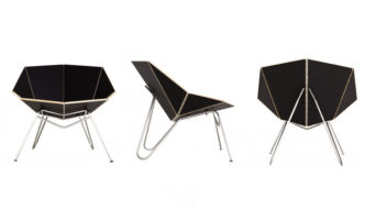 Origami Chair by Cut-Fold