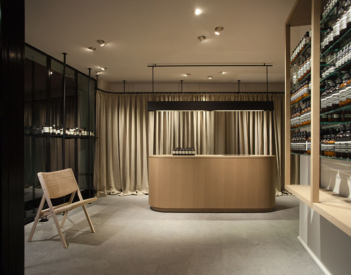 Aesop ABC-Viertel Store by .PSLAB and Vincent Van Duysen Architects