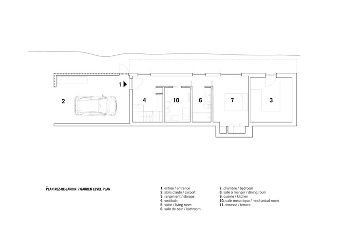 Bolton Residence by _naturehumaine First Floor Plan