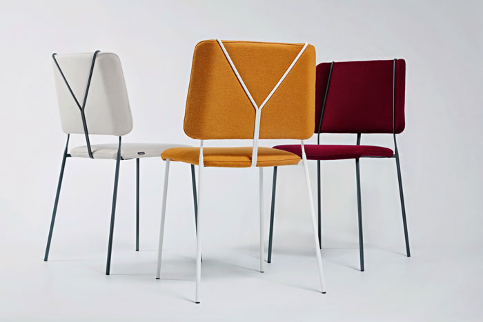 Färg & Blanche Design a Chair Inspired by Suspenders