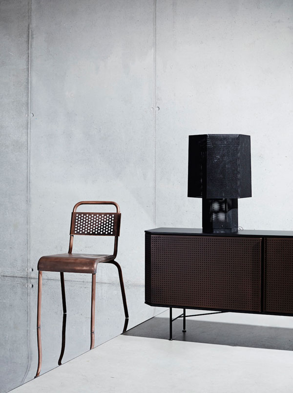 Hexx Table Lamp by Diesel Living for Foscarini
