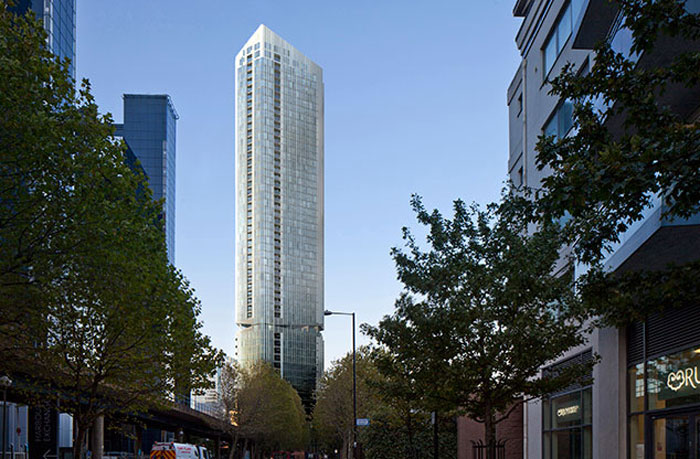 Make and LBS get the green light for Meridian Gate tower scheme
