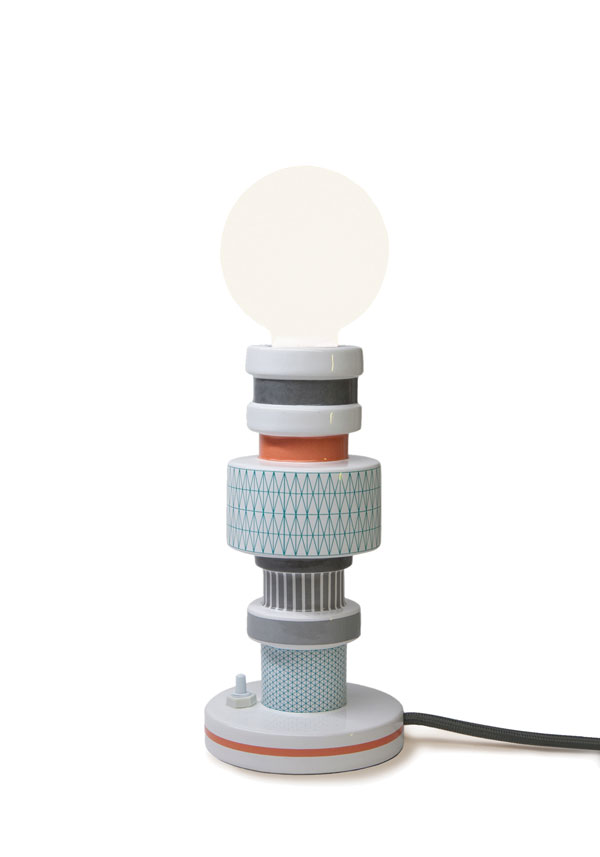 Moresque Table Lamp by Alessandro Zambelii for Seletti
