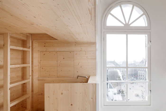 Room on the Roof by i29 interior architects for Bijenkorf