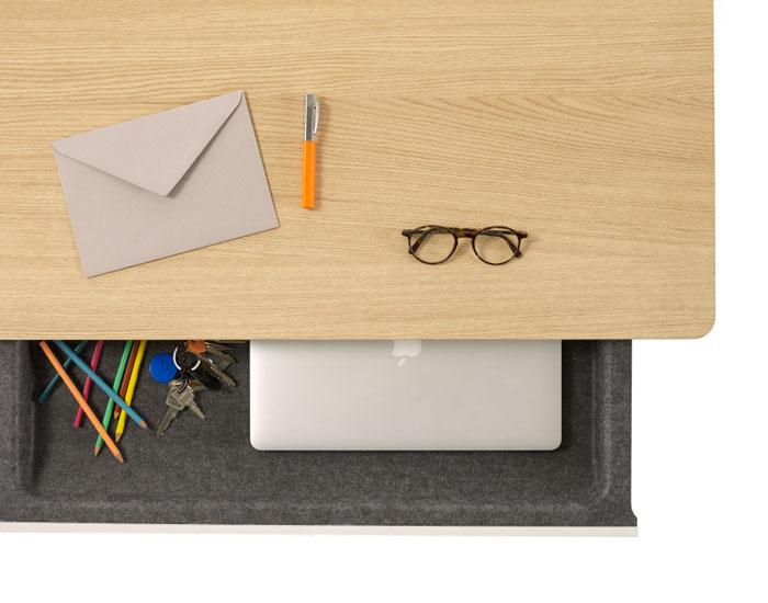 The Drawer Table by Ineke Hans for Arco