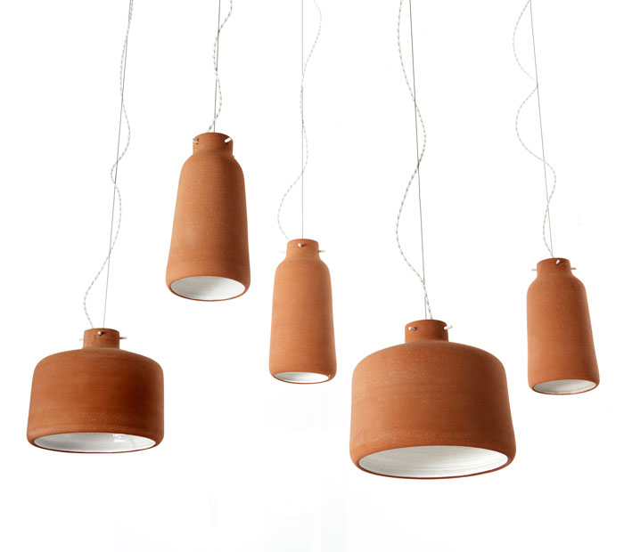Chimney Lights by Benjamin Hubert for Viaduct