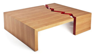 Juan de Fuca Table by Quake Furniture