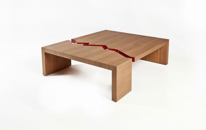 Juan de Fuca Table by Quake Furniture