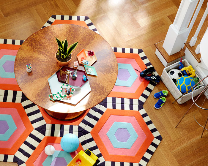 kinder GROUND Modular Carpet Brings Out The Designer In You