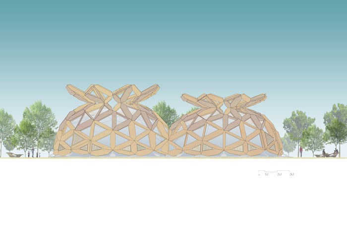 COPAGRI Dome by Miralles Tagliabue EMBT for Milan Expo 2015