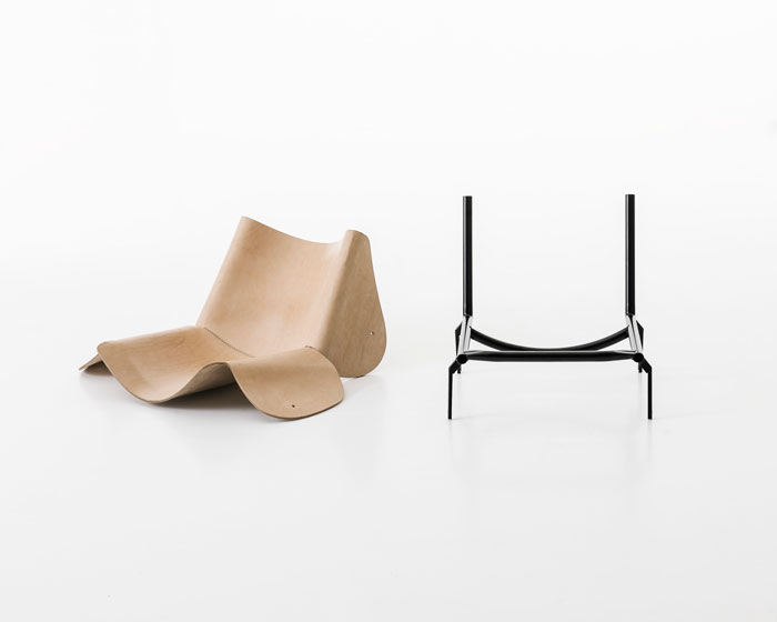 1085 Chair by Bartoli Design for Kristalia