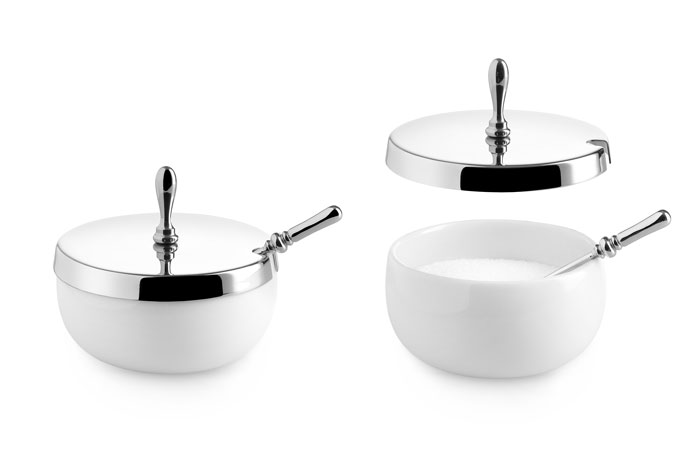 Sugar Bowl with lid by Marcel Wanders for Alessi