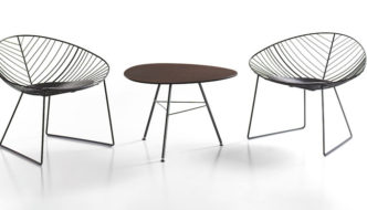 Nature inspired outdoor chairs by Arper