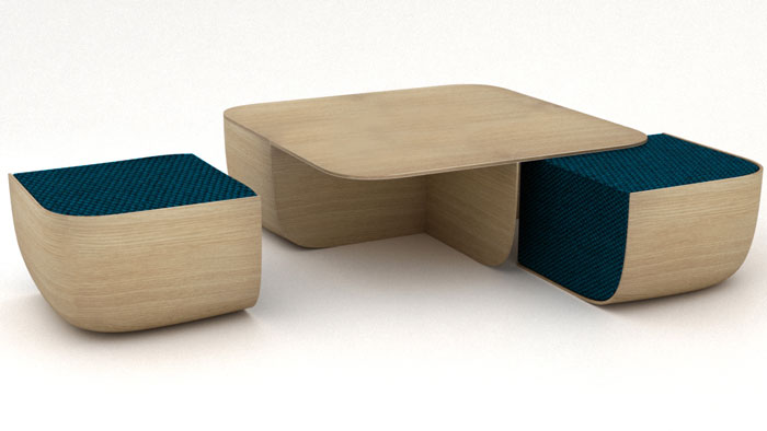 ANEMOS low table by Antonio Facco for Cappellini